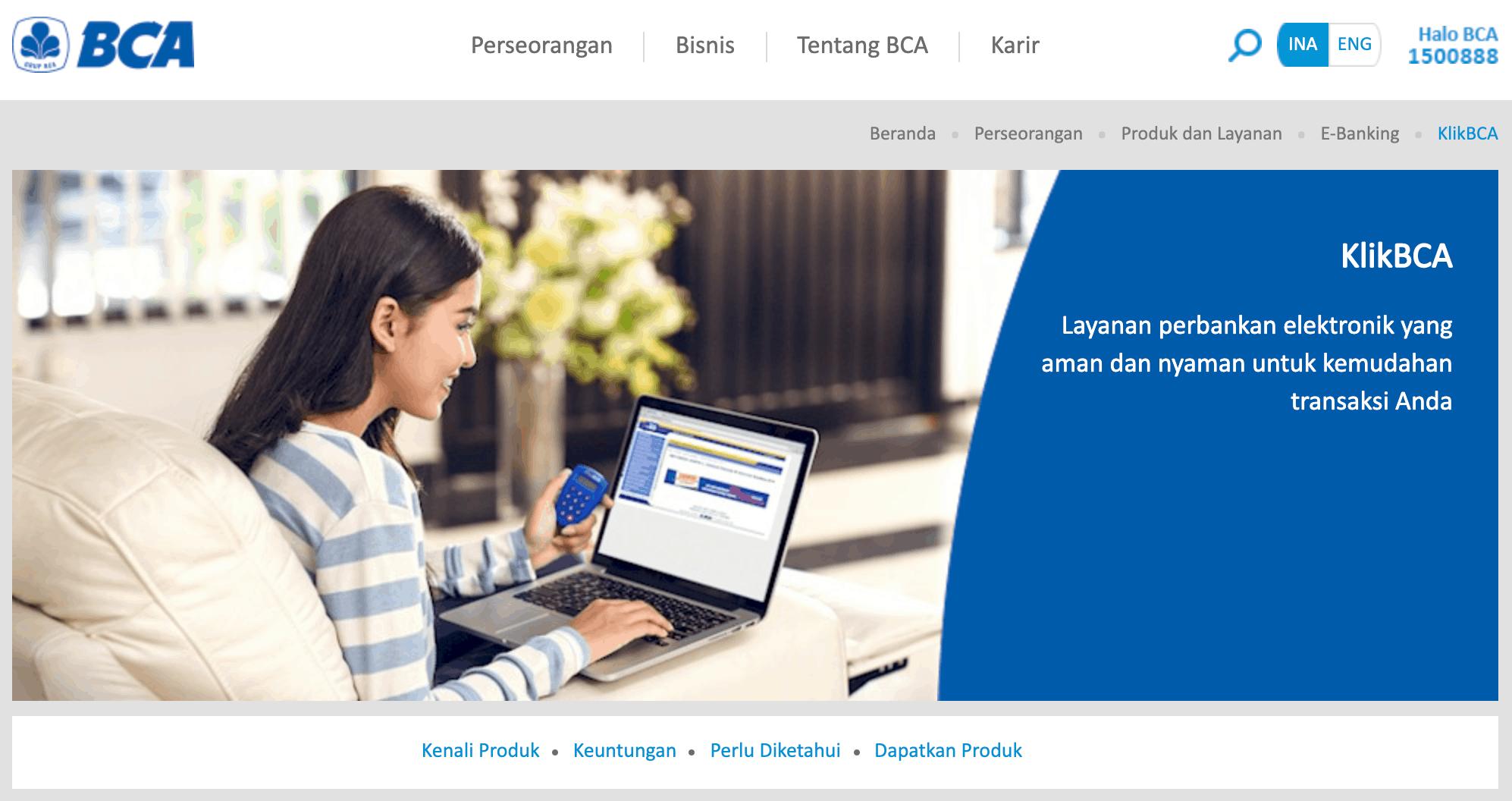 10 Fitur ibank BCA KlikBCA Internet Banking (Anda Mungkin Belum Tahu)