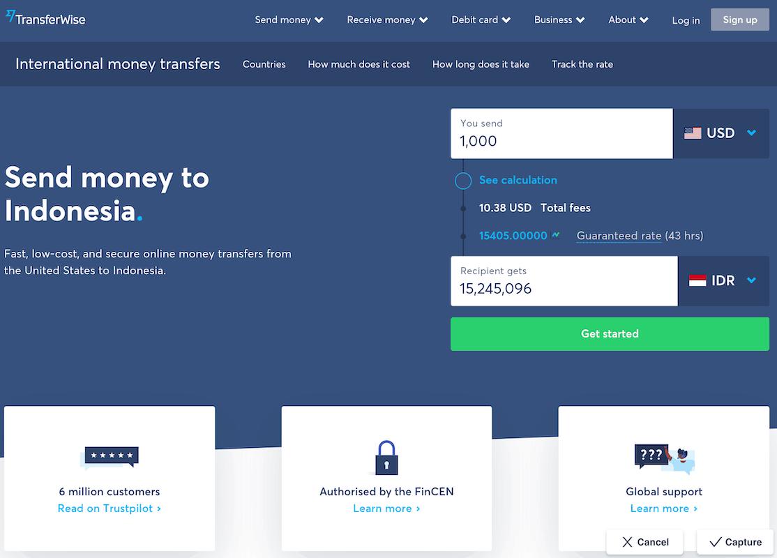 Cara Transfer Uang Ke Dari Luar Negeri Murah (Gratis) Cepat