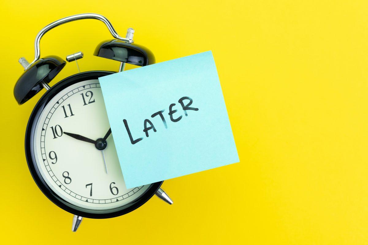 Kebiasaan Procastination dan Dampaknya Bagi Hidup Kamu