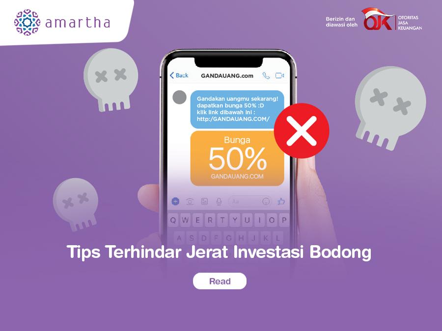 Tips Terhindar Jerat Investasi Bodong