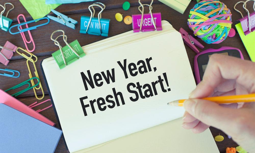 Tahun Baru, Kebiasaan Baik Baru