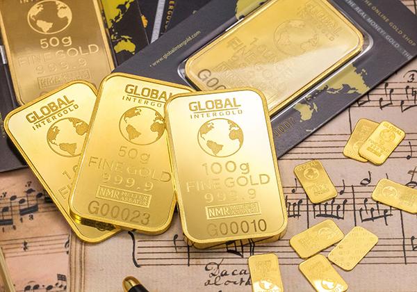 Investasi emas.
