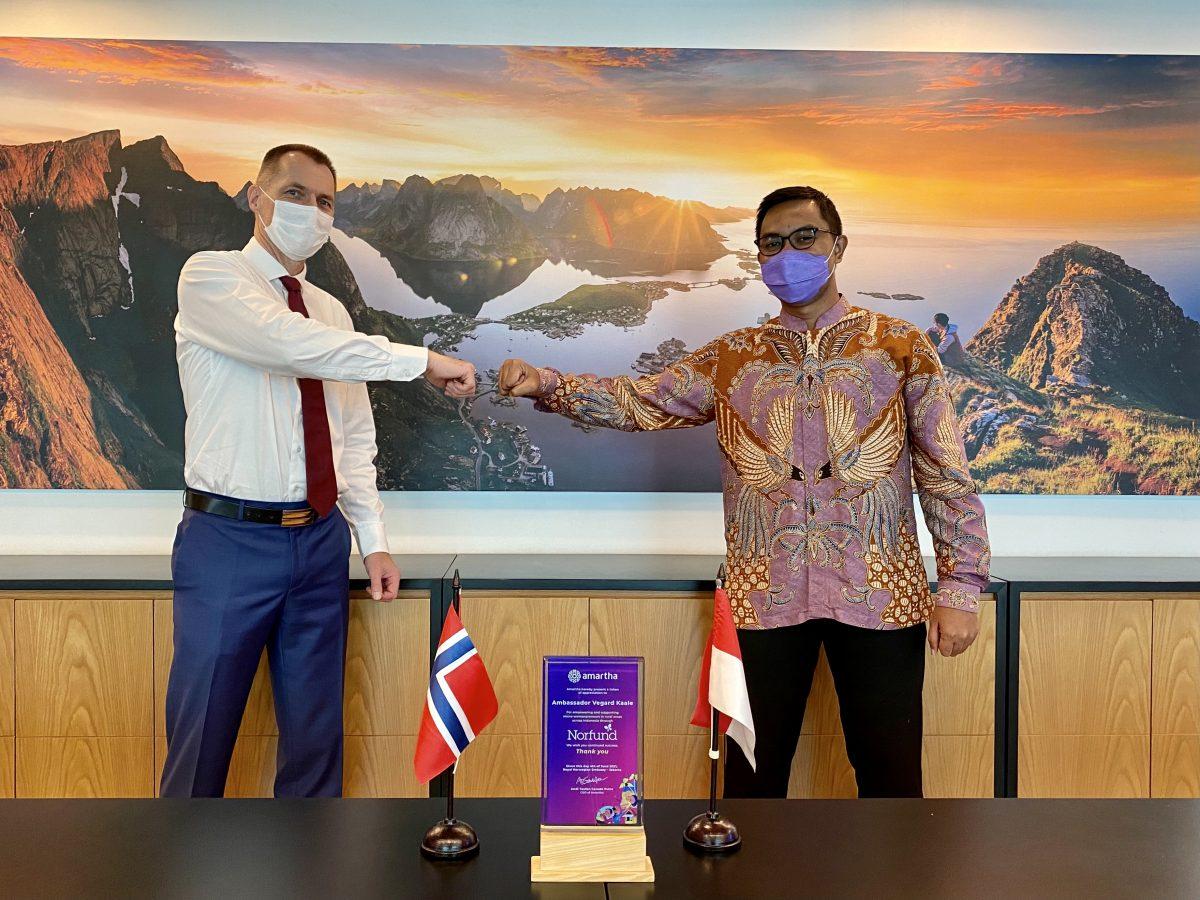 Amartha and Norfund, Norwegian Development Fund, Start Partnership to Provide Capital Digitizing Informal Economies